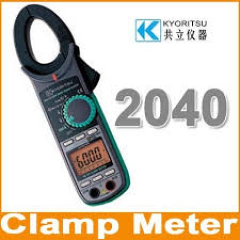 KM 2040 AC DIGITAL CLAMP METER