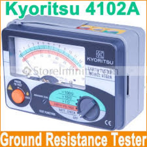 KM 4102A Analogue Earth Tester