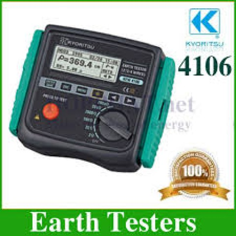 KM 4106 Earth Resistance and Resistivity Tester