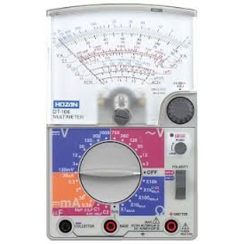 HZ DT106-TA MULTIMETER WITH CALIBRATION CERT