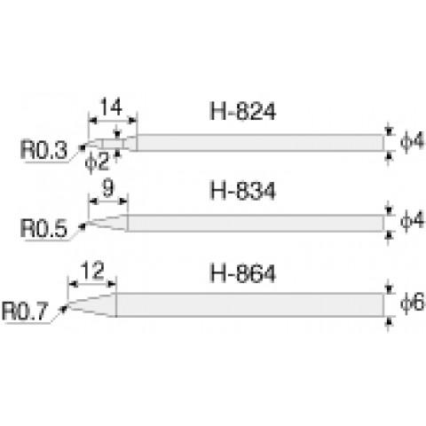 HZ H864 TIP FOR H869-230V SOLDERING IRON