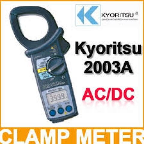 KM 2003A AC/DC DIGITAL CLAMP METER
