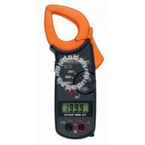 KM 2017 AC DIGITAL CLAMP METER