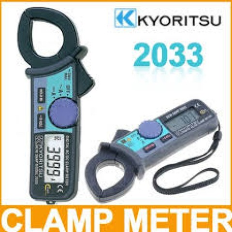 KM 2033 AC/DC DIGITAL CLAMP METER