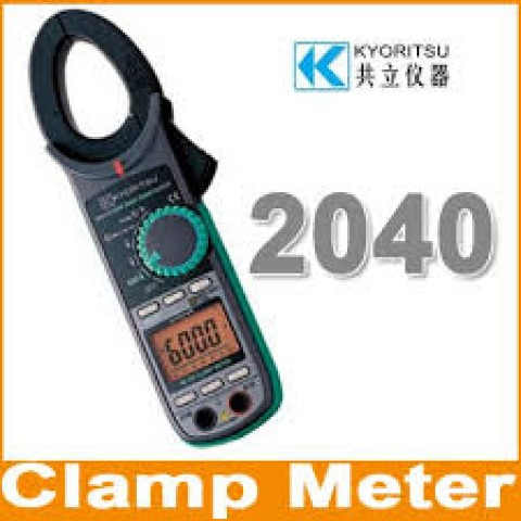 KM 2040 AC DIGITAL CLAMP METER