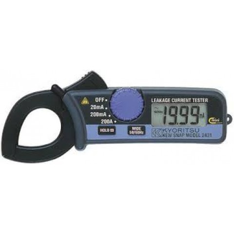 KM 2431 LEAKAGE CLAMP METER