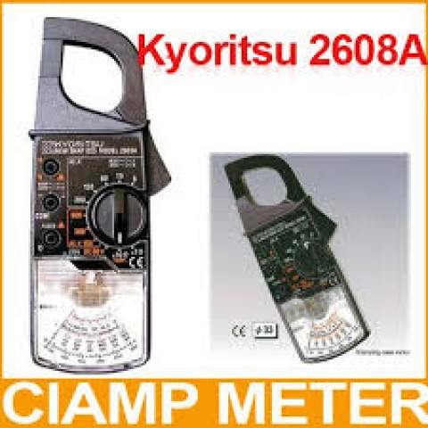 KM 2608A AC Analogue Clamp Meter