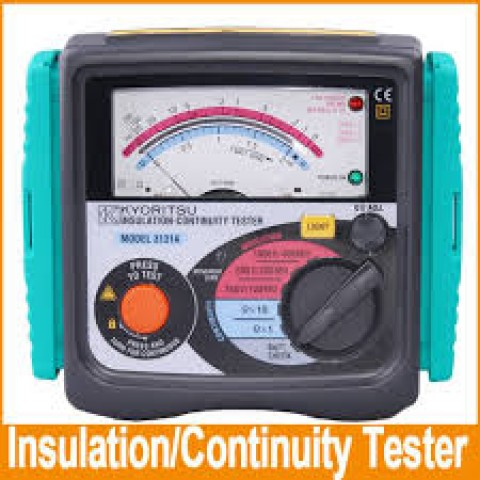 KM 3131A Analogue Insulation / Continuity Tester
