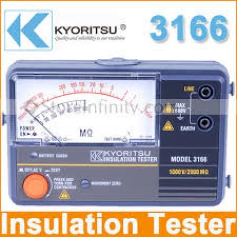 KM 3166 Analogue Insulation Tester