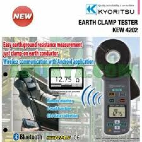 KM 4202 New Earth Clamp Tester