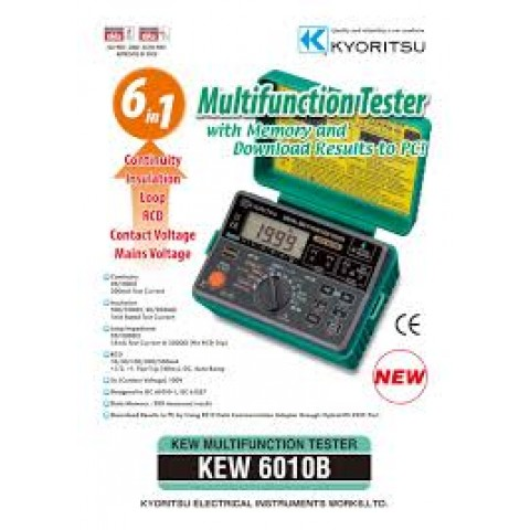 KM 6010B MULTI-FUNCTIONS TESTER