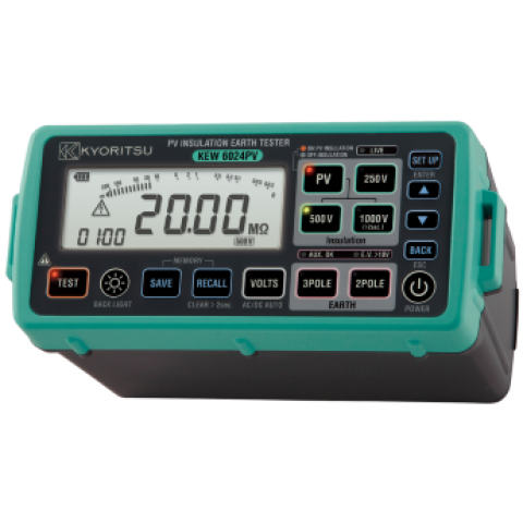 6024PV NEW PV INSULATION TESTER FOR SOLAR MARKET !!!!!!