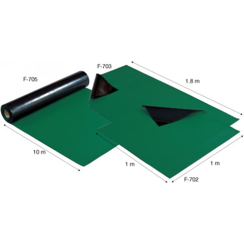 HZ F703 ESD RUBBER MATS (GREEN)