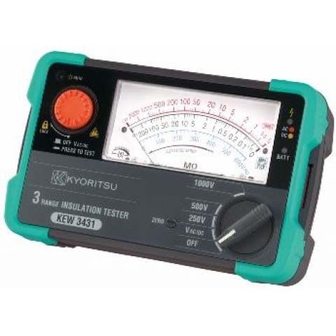 3431 NEW ANALOGUE INSULATION TESTER